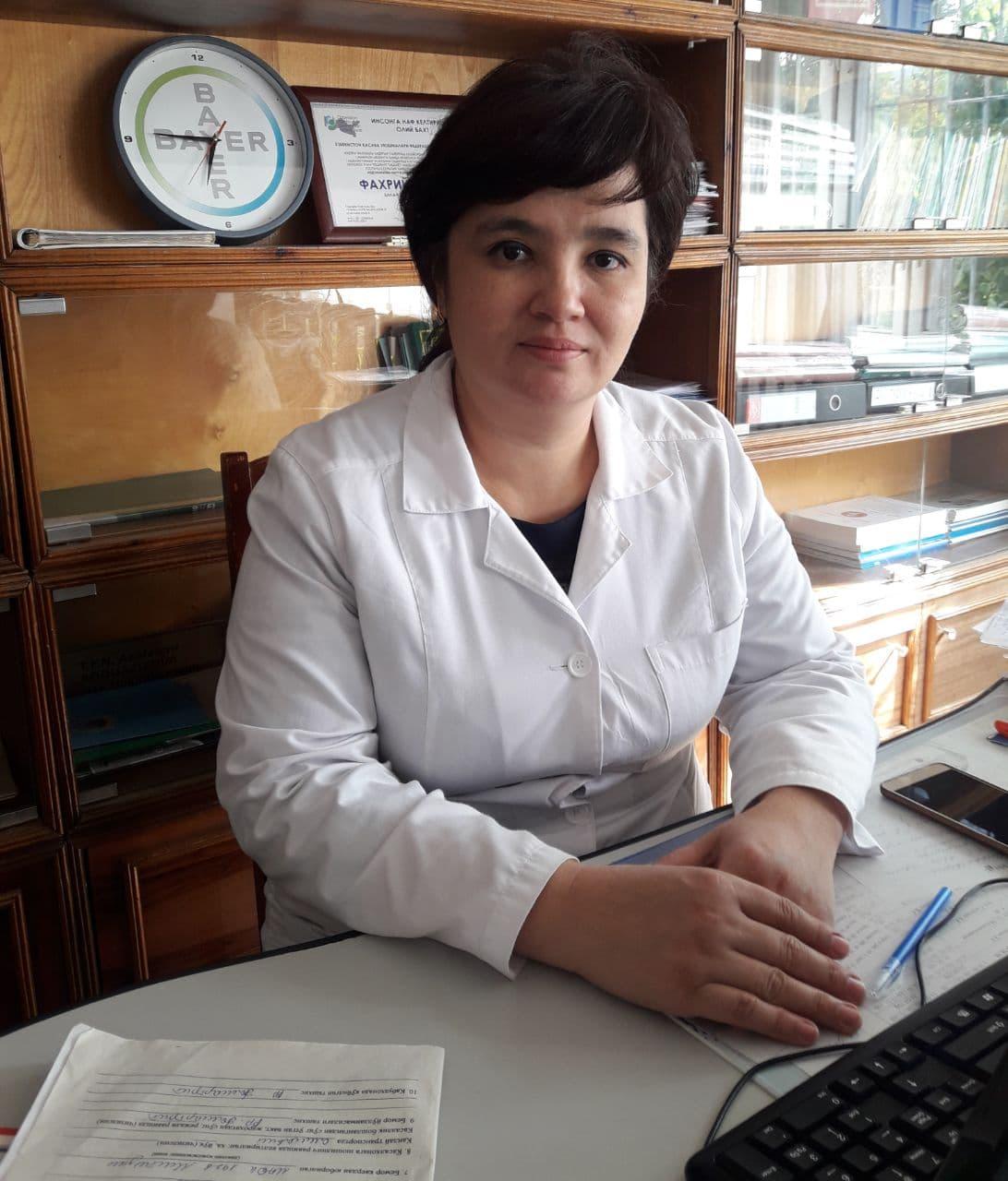 Абдуазизова Наргиза кардиоревматолог