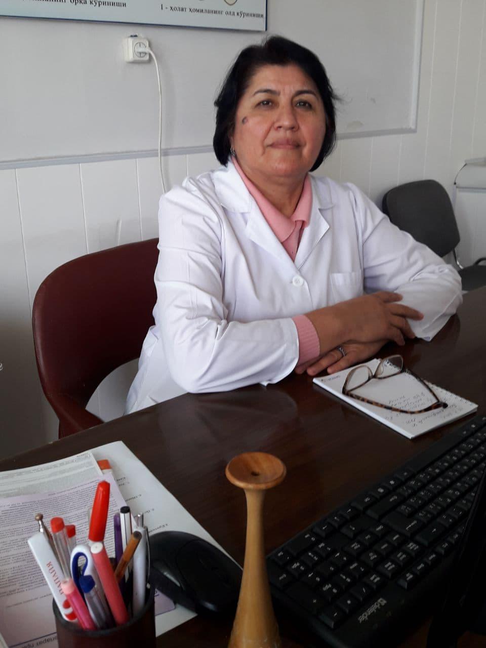 Атаходжаева Фатима гинеколог