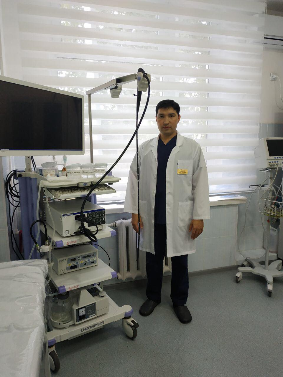 Ешмуратов Алишер хирург эндоскопист