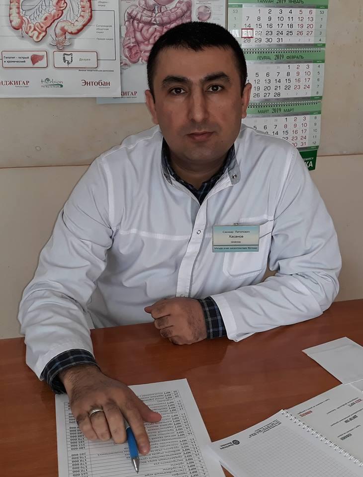 Хасанов Санжар гастроэнтеролог