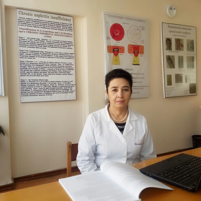 Касимова Масуда ревматолог