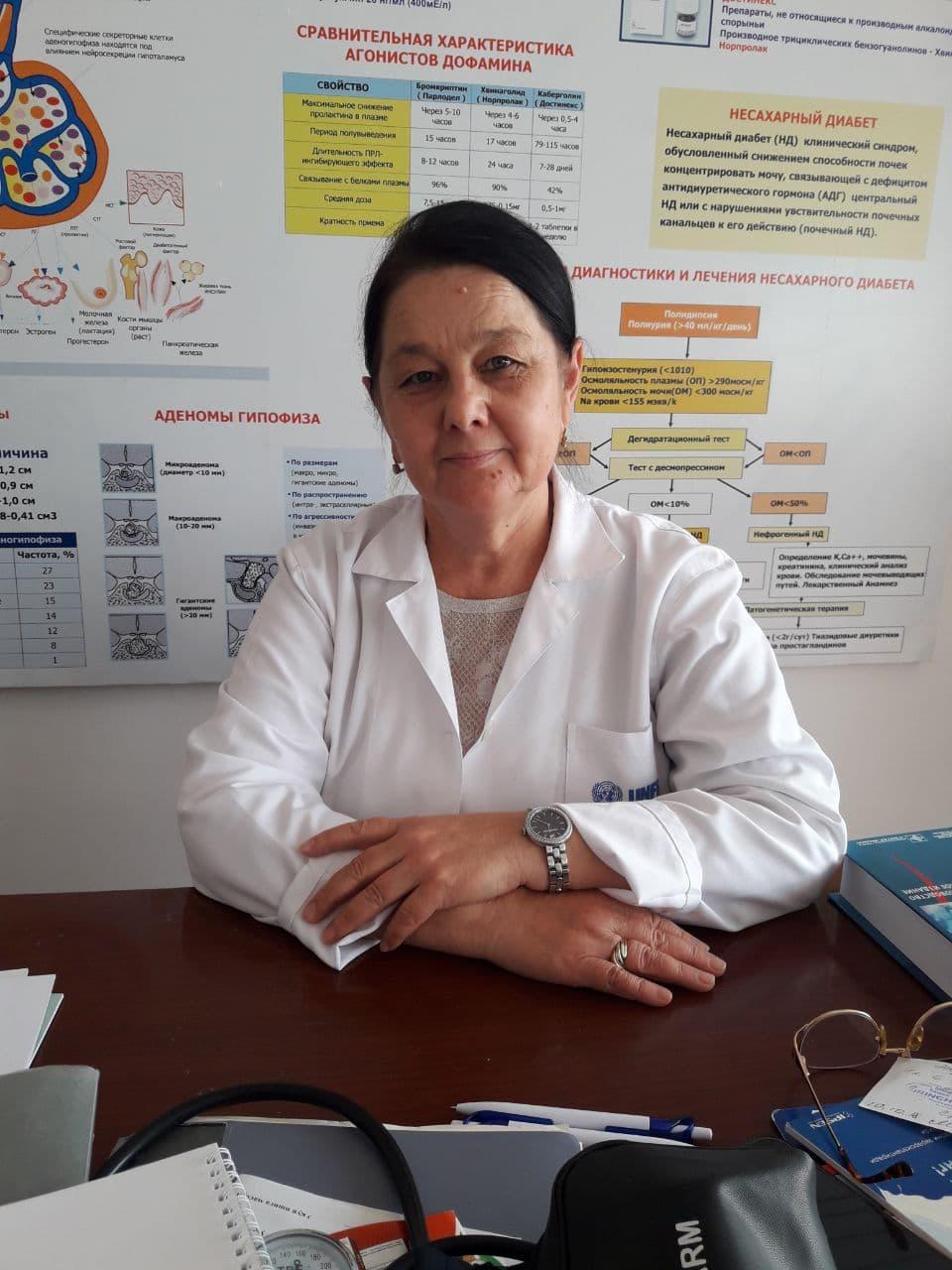 Мухтарова Маргарита эндокринолог