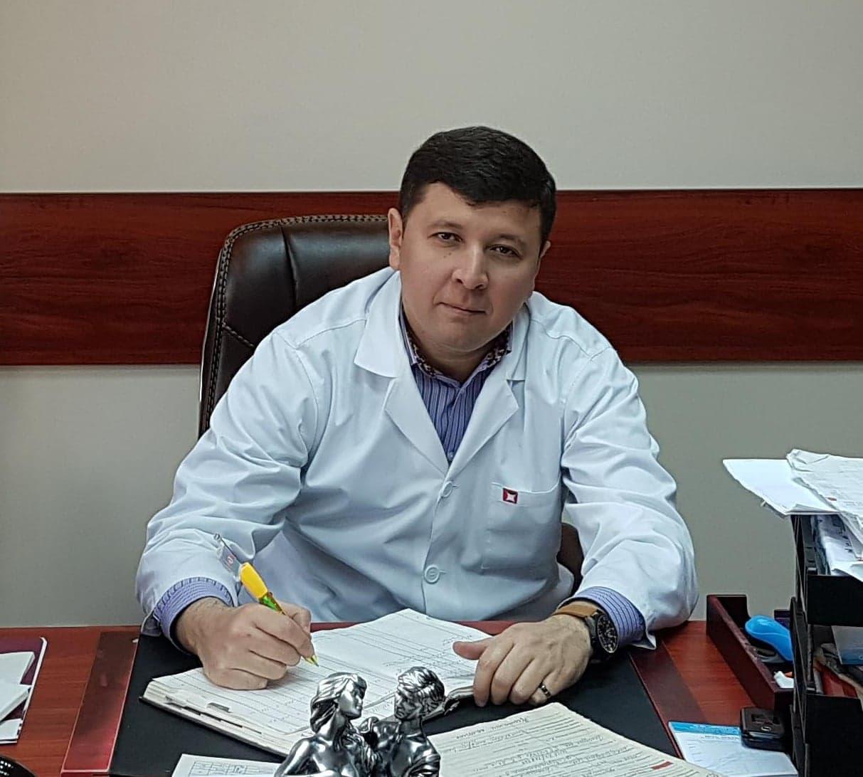 Узаков Жахонгир хирург эндоскопист